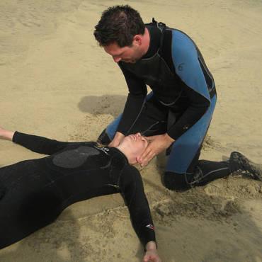Rescue Diver course at Sao Vicente