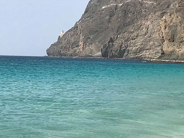 Sao Vicente: diving all year round